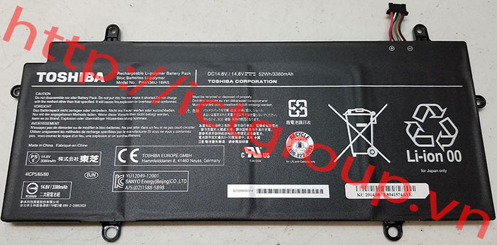 Battery TOSHIBA Z30-A