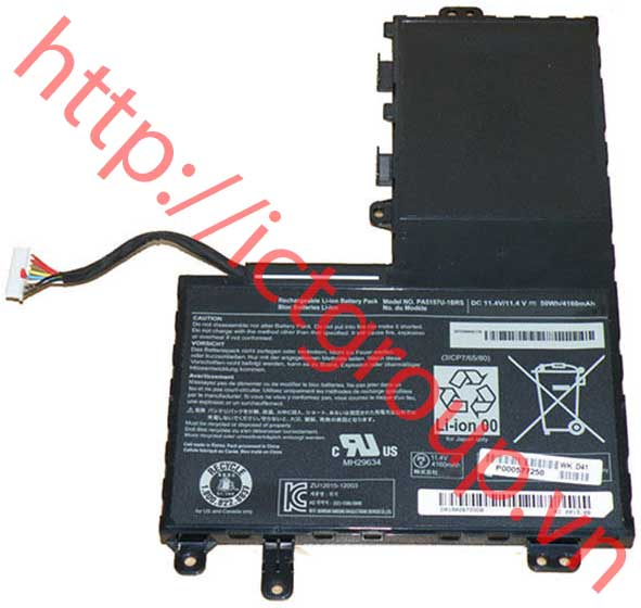 PIN BATTERY Toshiba U940