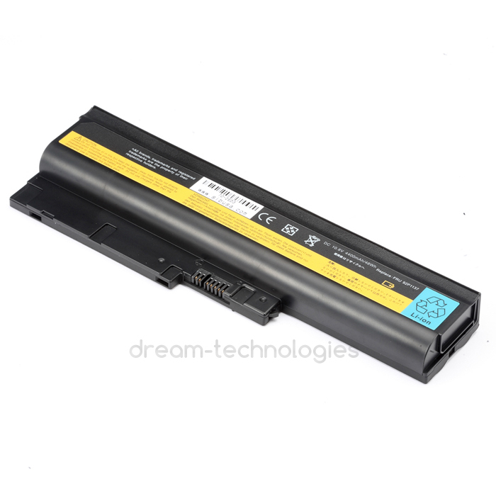 6CELL NEW pin Battery for IBM ThinkPad R60 R60E R61 R61I T500 T60 T60P T61 T61P W500