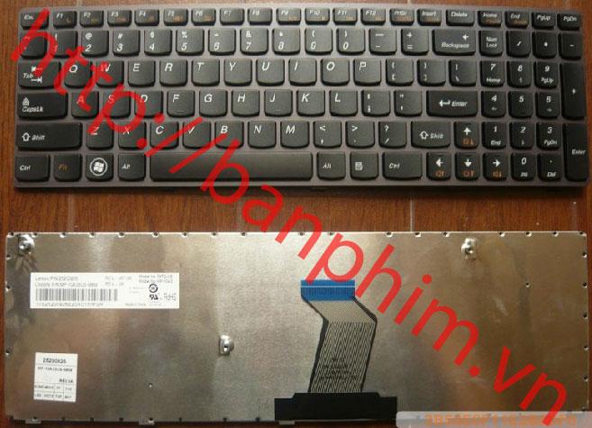 Bàn phím LENOVO Z570 B570 G570 B575 V570 Y570 Y570N Y570NT Y570N-IFI Y570N-ISE KEYBOARD