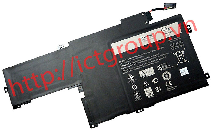 Battery DELL Inspiron 14-7437