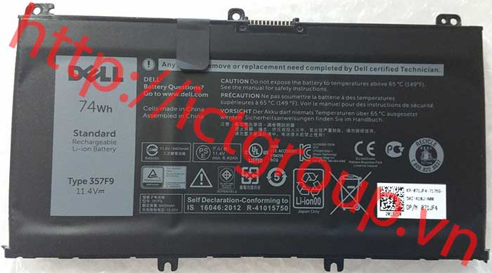 Pin Battery Dell Inspiron 7567