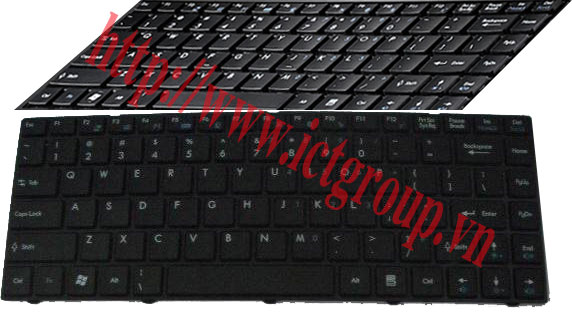 ban phim MSI X350 X360 X460 X460DX CR41 CX41 EX465 keyboard